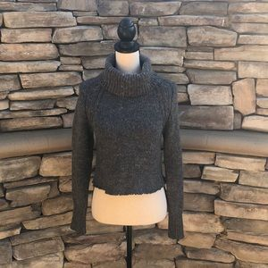 NWOT Anthropologie Ruby Moon  Cropped Sweater Sz S